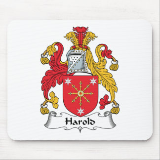 Harold Family Crest Mouse Pads