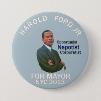 Harold Ford, Jr. for NYC mayor 2013 7.5 Cm Round Badge