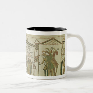 Harold  is offered the crown and the Two-Tone coffee mug