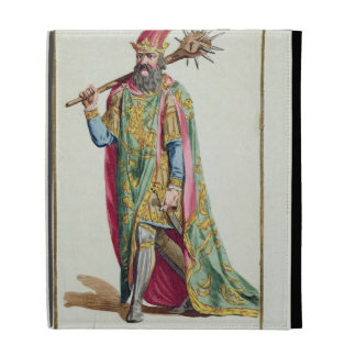 Harold, King of Denmark from 'Receuil des Estampes iPad Folio Cover