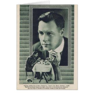 Harold Lockwood Mary Pickford 1917 Greeting Card