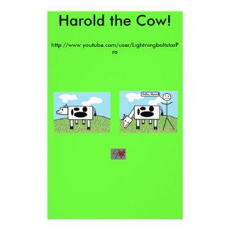 Harold the Cow Fliers 14 Cm X 21.5 Cm Flyer