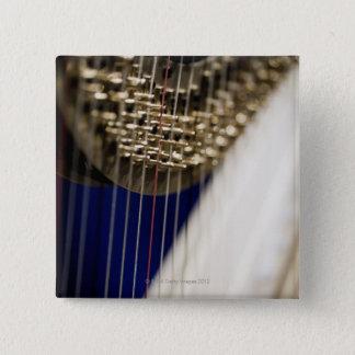Harp 15 Cm Square Badge