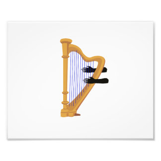 harp and hands graphic png art photo