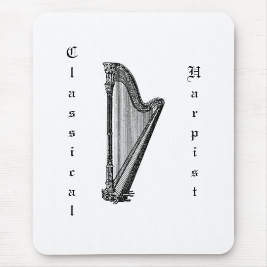 Harp Mouse Pad