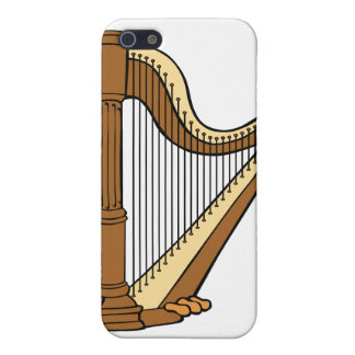 Harp Music iPhone 5 Covers