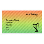 Harp Pack Of Standard Business Cards