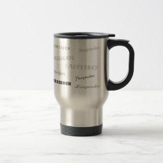 Harpenden Fonts Travel Mug