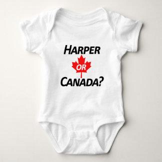 Harper or Canada? Merchandise Baby Bodysuit