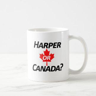 Harper or Canada? Merchandise Basic White Mug