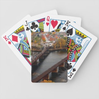 Harpers Ferry in the Fall Bicycle Playing Cards