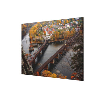 Harpers Ferry in the Fall Canvas Print