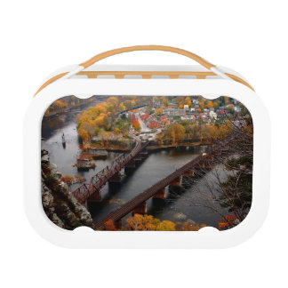 Harpers Ferry in the Fall Lunch Box