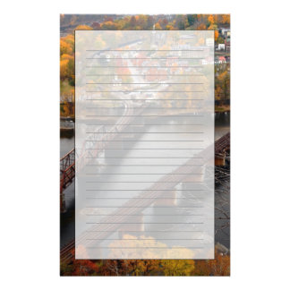 Harpers Ferry in the Fall Personalized Stationery