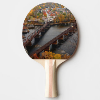 Harpers Ferry in the Fall Ping Pong Paddle