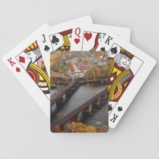 Harpers Ferry in the Fall Playing Cards