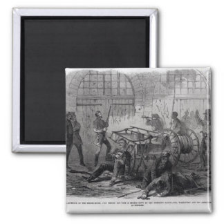 Harper's Ferry Insurrection Square Magnet