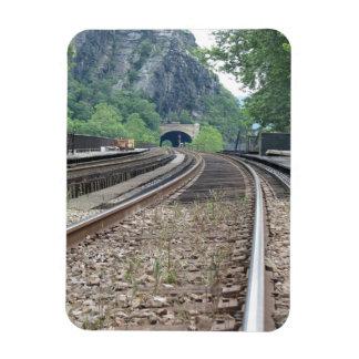 Harpers Ferry WV Railroad Tracks Magnet