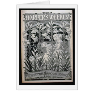 'Harper's Weekly', Christmas Announcements 1896 (l Cards