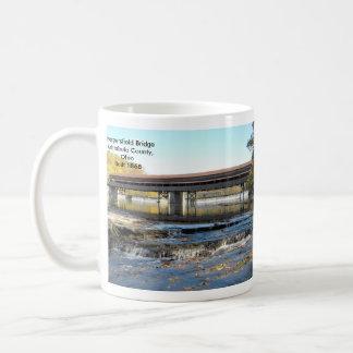 Harpersfield Covered Bridge Ashtabula County Ohio Coffee Mug