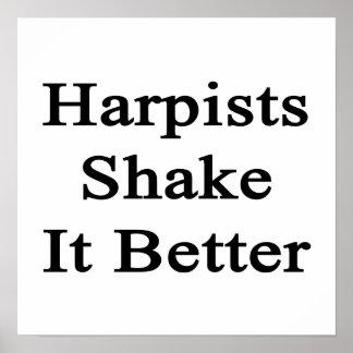 Harpists Shake It Better Print
