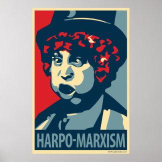 Harpo Marx - Harpo-Marxism: OHP Poster