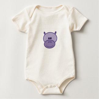 Harpo the Hippo Baby Bodysuit