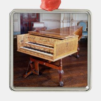 Harpsichord, by Jacob Kirckman, English, 1766 Christmas Ornament
