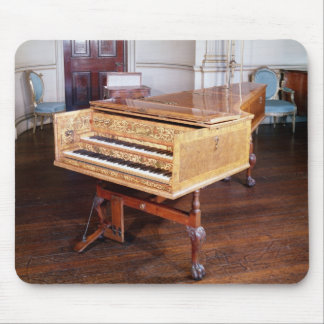Harpsichord, by Jacob Kirckman, English, 1766 Mouse Mat