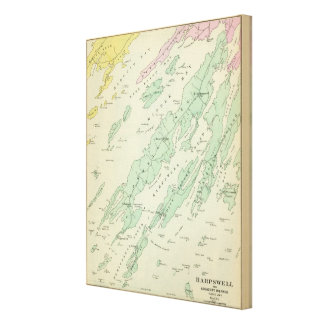 Harpswell, adjacent islands canvas prints