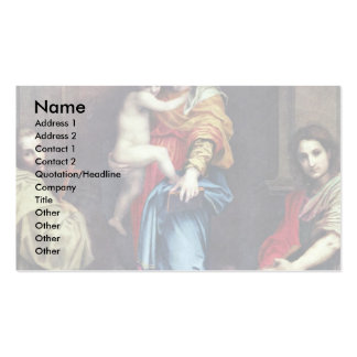 Harpyienmadonna By Sarto Andrea Del Double-Sided Standard Business Cards (Pack Of 100)