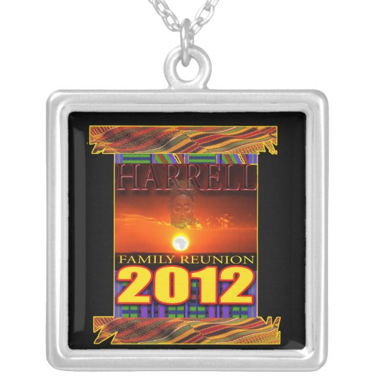 harrell Family Reunion Silver Plated Necklace