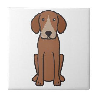 Harrier Dog Cartoon Ceramic Tiles