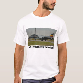 Harrier GR9 ZG858 4 Sqn - To see into the future T-Shirt