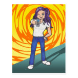Harriet anime art gallery character post cards
