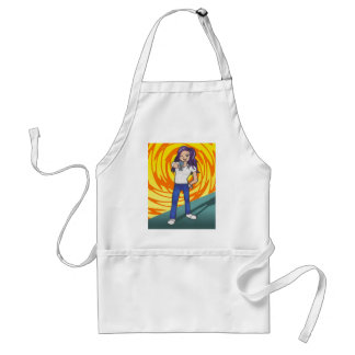 Harriet anime art gallery character standard apron