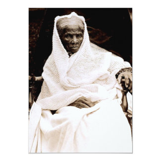Harriet Tubman 13 Cm X 18 Cm Invitation Card