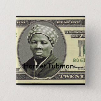 Harriet Tubman 15 Cm Square Badge