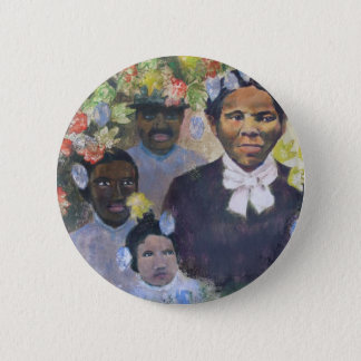 Harriet Tubman 6 Cm Round Badge