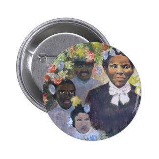 Harriet Tubman 6 Cm Round Badge