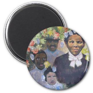 Harriet Tubman 6 Cm Round Magnet