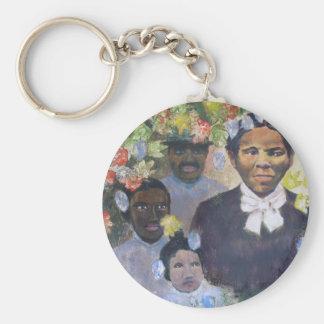 Harriet Tubman Basic Round Button Key Ring