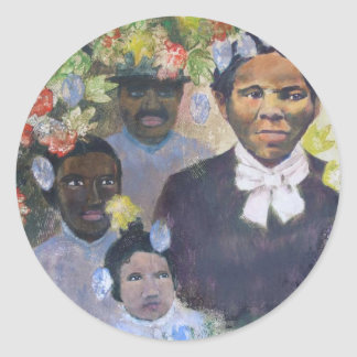 Harriet Tubman Classic Round Sticker