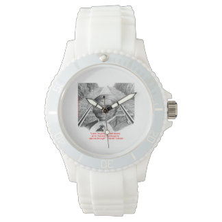 """Harriet Tubman & """"Hold Stead, Lord"""" Womens Watch"""