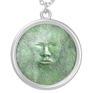 Harriet Tubman in Bronze Necklace