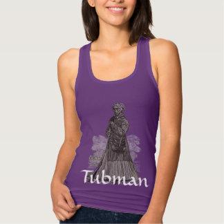 Harriet Tubman Jersey Racerback Tank Top