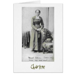 Harriet Tubman notecard Note Card