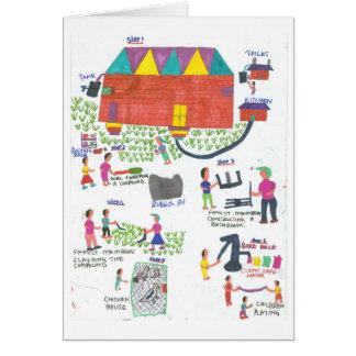 Harriett s Sanitation Plan Greeting Card
