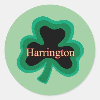 Harrington Family Sticker