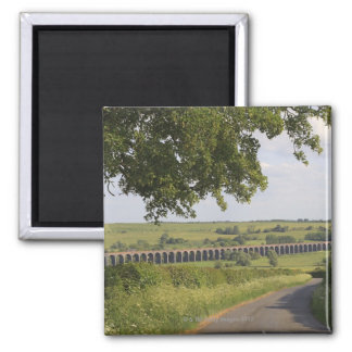 Harringworth Viaduct, Rutland.  Also known as Square Magnet